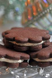 christmas cookie countdown and dark chocolate sandwich cookie recipe