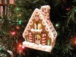 gingerbread hallmark keepsake ornament light motion