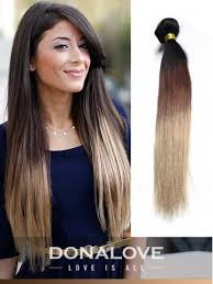 ombre extensions two colors ombre indian remy clip in hair extensions od005 clip