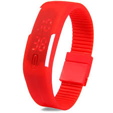 led rubber bracelet images Led watches product led watches price jpg