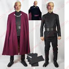 star wars attack of the clones count dooku costume with cape