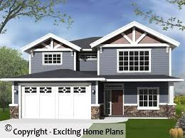 homeplans com modern house garage dream cottage blueprints by exciting home plans