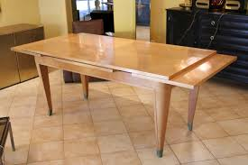 art deco sycamore dining table 1930s for sale at pamono