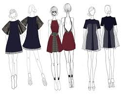 Category Designs Introduction To Fashion Design Eveningwear Project On Behance