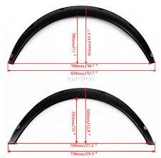 lexus gs300 body kit australia 4x black universal fender flares flexible durable polyurethane
