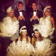 Great Gatsby Great Gatsby Theme Dancers Amax Entertainment