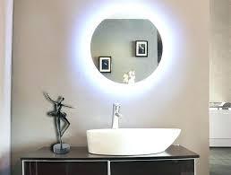 Illuminated Bathroom Wall Mirror Lighted Bathroom Wall Mirrors Image Of Wall Lighted Bathroom