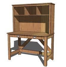 Computer Inside Desk Ana White Brookstone Desk Hutch Diy Projects