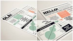 Job Resume Graphic Design by Well Designed Resume Examples For Your Inspiration