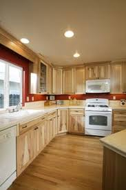 Kitchen With Wood Floors by What Color Cabinets Go With White Appliances Of Kitchen