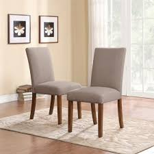 Leather Parson Dining Chairs Dining Room Remarkable Parsons Dining Chairs For Your Dining Room