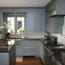 kitchen endearing blue grey painted kitchen cabinets light gray