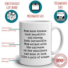 perfect gift for mom from daughter coffee mug unique presents for