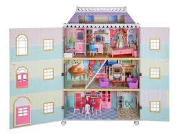 Teamson Vanity Teamson Kids London Mansion Dollhouse W Furniture W 9957