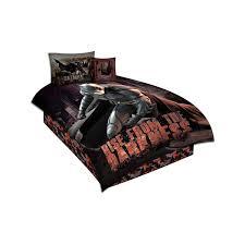 Batman Home Decor Batman Twin Comforter Set Of 4 Black Loversiq