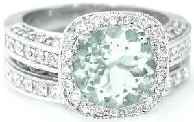 green amethyst engagement ring green amethyst and diamond ring b green amethyst engagement ring