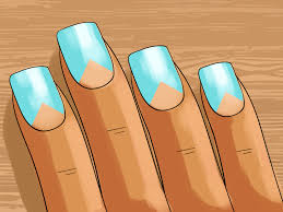 3 ways to do negative space nail art wikihow