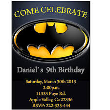 batman birthday party invitation printable by lululola2022 5 00