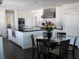 Kitchen Island With Table Extension by Black Kitchen Table Best 25 Black Kitchen Tables Ideas On
