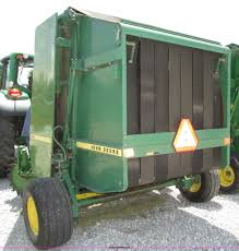 1988 john deere 530 round baler item f7395 sold june 25