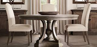 restoration hardware 17 c monastery table st james round dining table dining room ideas