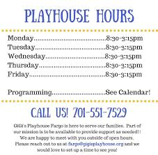Fargo Open Friday After Thanksgiving Playhouse Closed Open By Appointment Fargo