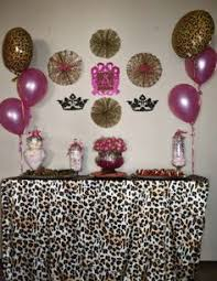 leopard print party supplies brown pink cheetah print birthday party ideas cheetah print