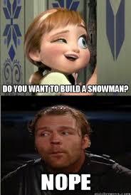 Dean Ambrose Memes - no dean doesn t wanna build a snowman by ghostasylum on deviantart