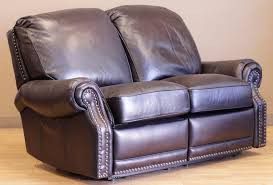 charleston leather sofa furniture leather lounger barcalounger barco lounger