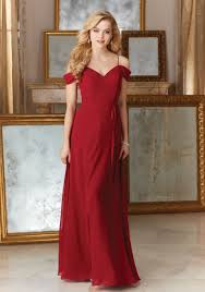 bridesmaid gown chiffon with beaded embroidery bridesmaid dress style 141 morilee