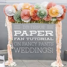 paper fans for wedding best 25 diy paper fans wedding ideas on paper