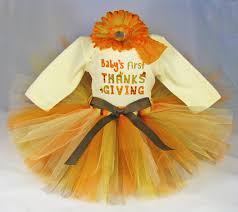 Thanksgiving Dress Baby Baby Thanksgiving Applique Onesie Tutu And Hair Bow