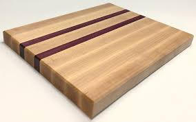 Maple Cutting Boards Butcher Block Maple And Purple Heart U2014 Rfw Co