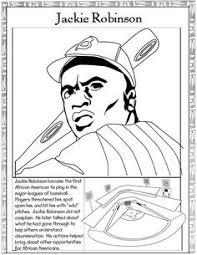 Jackie Robinson Coloring Page Funycoloring Jackie Robinson Coloring Page