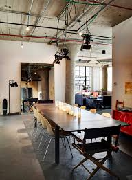 furniture stunning loft furniture ideas feat long dining table and