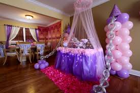Balloon Decoration At Home Interior Design Cool Princess Themed Balloon Decorations