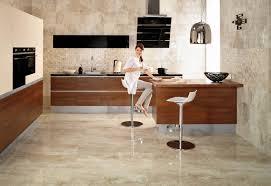 wooden kitchen flooring ideas minimalist modern kitchen decorating ideas showing brown marble