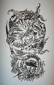 tattoo half sleeve designs black and whitehalf sleeve tattoo