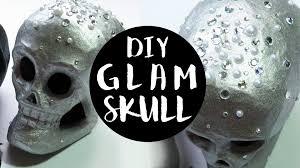 Skull Decor Easy Diy Skull Decor Glam Style Youtube