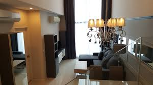 high living two bedroom duplex for rent in asoke promove bangkok