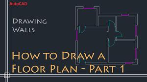 house plan drawing tutorial