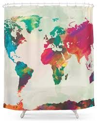 Chemistry Shower Curtains Society6 World Map Shower Curtains Designs Mellanie Design