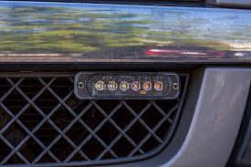 strobe light installation truck low profile vehicle led mini strobe light head built in controller