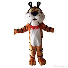 flintstones costumes oisk mr tiger mascot costume set for kid dress up