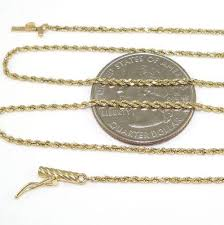 gold chain necklace rope images 14k solid gold rope chain ebay JPG