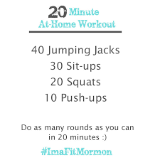 Bedroom Workout No Equipment Fitfully Mormon Simple At Home Workout No Weights Needed
