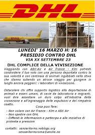 sede dhl torino roma presidio contro dhl e l industria della vivisezione www