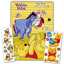 amazon crayola color winnie pooh coloring pad