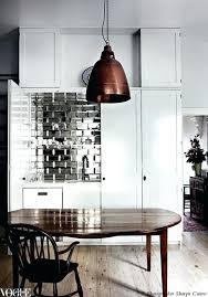 mirror tile backsplash kitchen mirror tiles ideas designlee me