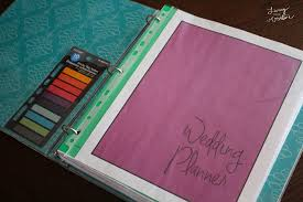 wedding organizer binder diy wedding planner binder dd088 home inspiration